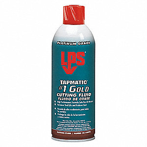 Cutting Oil,11 oz.,Aerosol,Gold