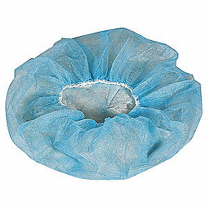 "Polypropylene Bouffant, 21"" Diameter, Size: 21"", Package Quantity 100"