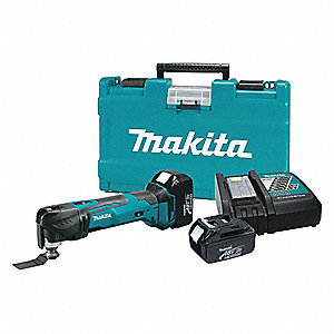 Cordless Oscillating Tool Kit,18V,20,000