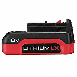Battery Pack, 18.0 Voltage, Li-Ion