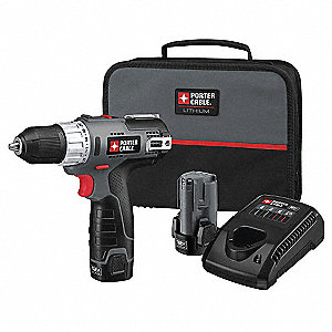 "12V MAX Compact Li-Ion 3/8"" Cordless Drill/ Driver Kit, Battery Included"