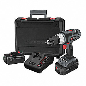 "18V Standard NiCd 1/2"" Cordless Drill/ Driver Kit, Battery Included"