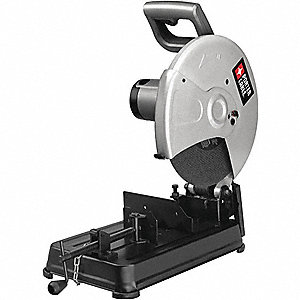 "Chop Saw, 14"" Blade Dia., 1"" Arbor Size, Voltage: 120"