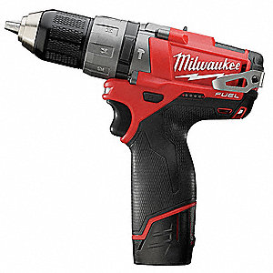 "1/2"" Cordless Hammer Drill/Driver Kit, 12.0 Voltage, Battery Included"