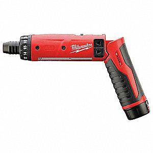 "1/4"" Hex Quick Change Cordless Screwdriver Kit, 4.0 Voltage, Battery Included"