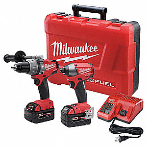 Cordless Combination Kit, 18.0 Voltage, Number of Tools 2