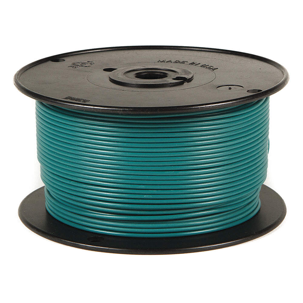 BATTERY DOCTOR Primary Wire,18 ga.,16,100 ft.,60V,Green - 34GC61 ...