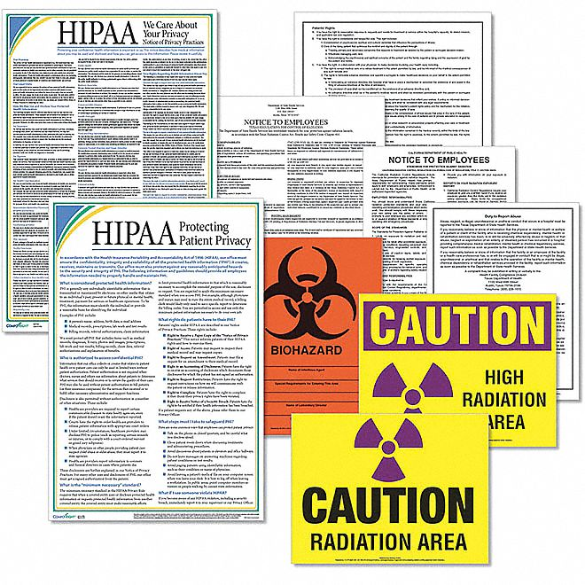 Labor Law Poster Kit, MN Federal and State Labor Law, English