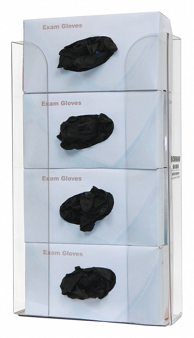 Glove Box Dispenser,  4 Boxes