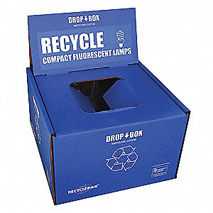 CFL Recycling Kit,13x13x9In