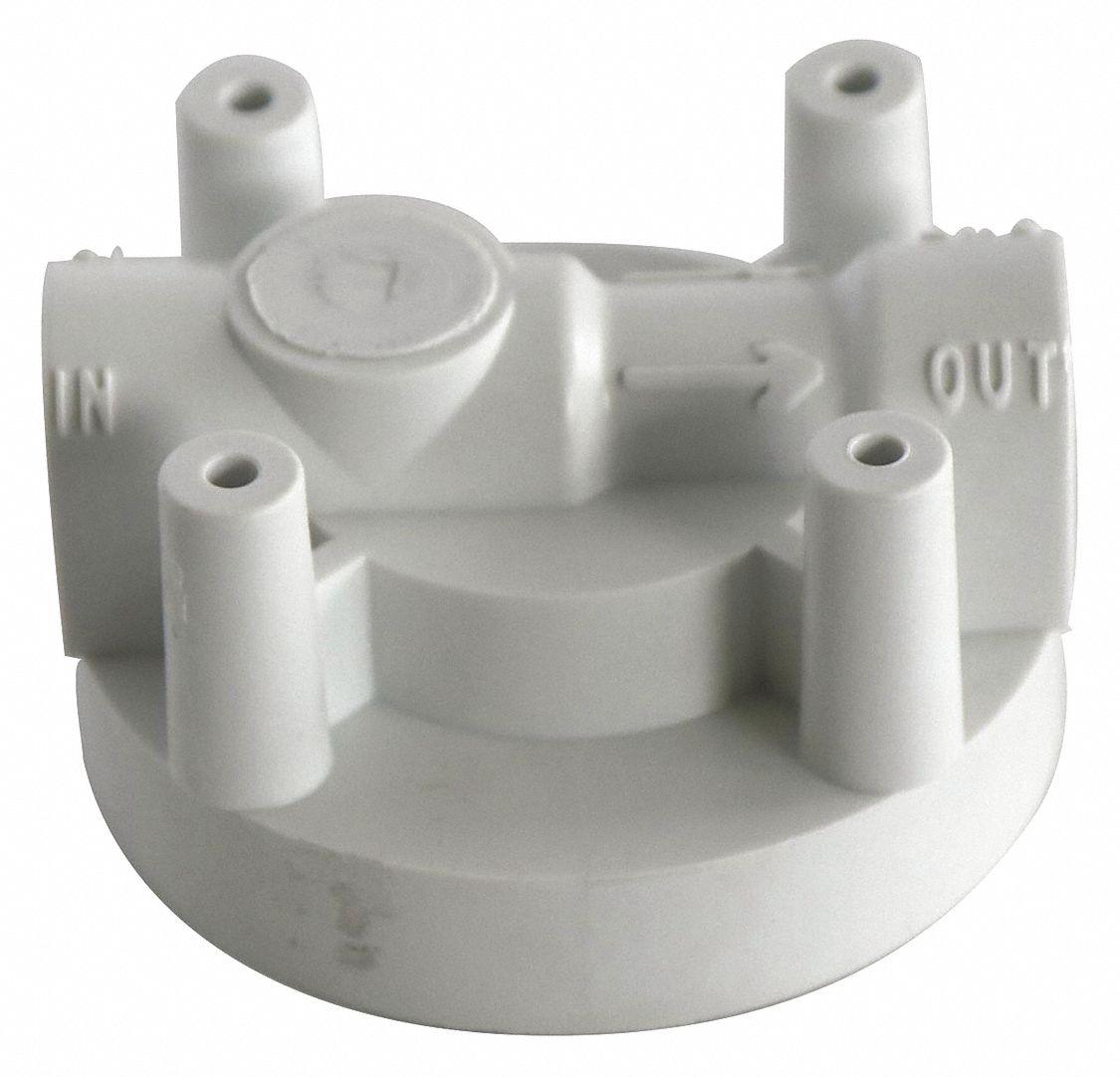 Polypropylene Replacement Filter Head Assembly