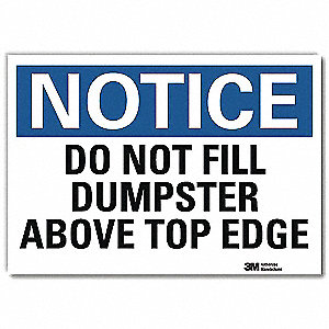 "Cleaning and Maintenance, Notice, Vinyl, 10"" x 14"", Adhesive Surface, Engineer"