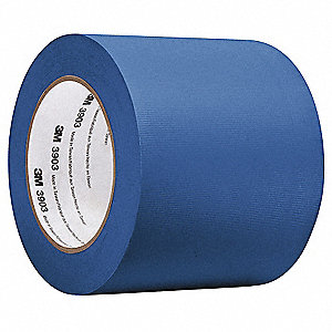 "Light-Duty Duct Tape, 1/2"" X 50 yd., 6.30 mil Thick, Blue Vinyl, 1 EA"
