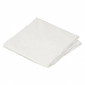 Hospital Plastic Mattress Encasement, White