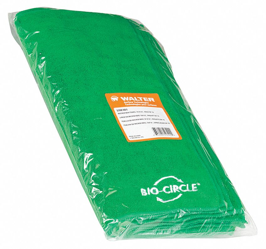 Microfiber Cleaning Cloth, Green