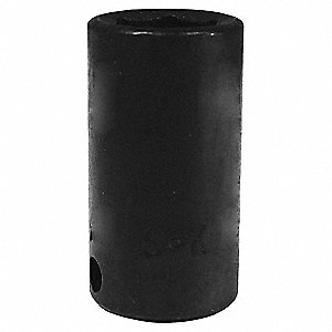 Impact Socket, Semi-Deep, 5/8 in.