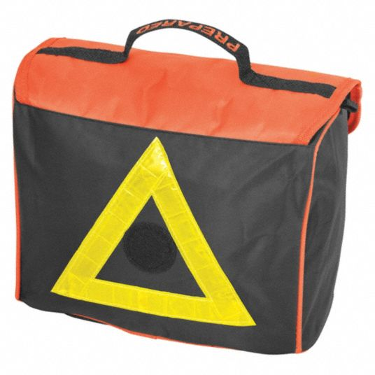 Roadside Emergency Kit/Triangle, 57 Piece