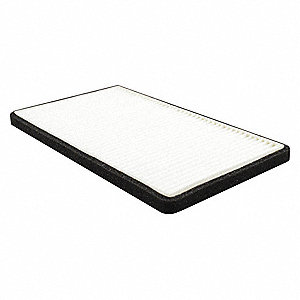 Air Filter,Element Only,Panel,8-29/32 in