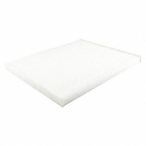 Air Filter,Element Only,Panel,11-1/2 in