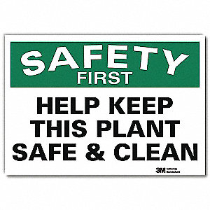 Safety Decal,Reflctv Vinyl,10inHx14inW