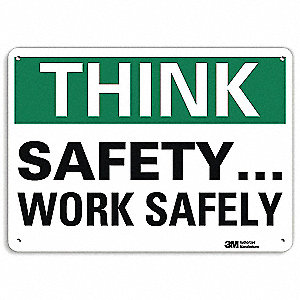 "Safety Incentive and Motivational, No Header, Recycled Aluminum, 10"" x 14"", With Mounting Holes"