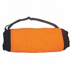 Hand Muff, Orange, Nylon Shell Outer Material, Fleece Liner Insulation Type