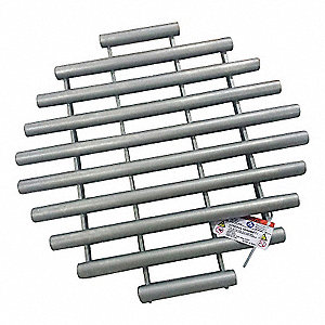 Magnetic Grate,Round,Rare Earth,20in dia