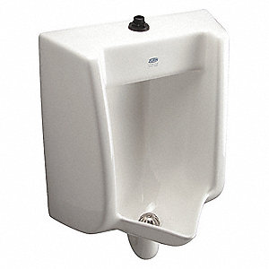 zurn siphon jet wall urinal to 1 0 gallons per flush 25 5 8 h x 18 1 2 w white 34te11. Black Bedroom Furniture Sets. Home Design Ideas