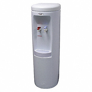 Free-Standing Inline Water Dispenser for Cold, Hot Water