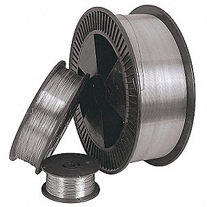 "30 lb. Stainless Steel Box MIG Welding Wire with 0.023"" Diameter and ER309LSI AWS Classification"