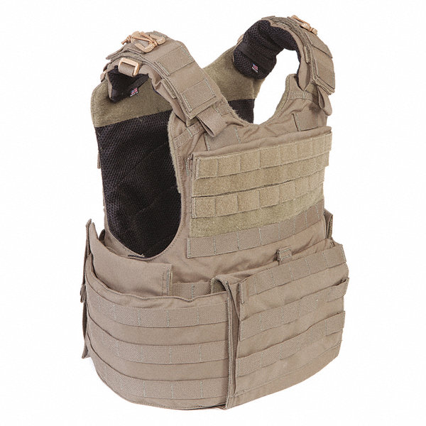 DIAMONDBACK TACTICAL Tactical Assault Armor Kit M Black