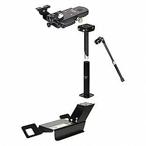 Computer Mount Kit,Black,Ford Expedition