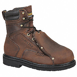 Wrk Boots,Mens,10,D,Welted,8inH,Brown,PR