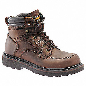 Work Boots,Mens,12,D,Wide Toe Cap,PR