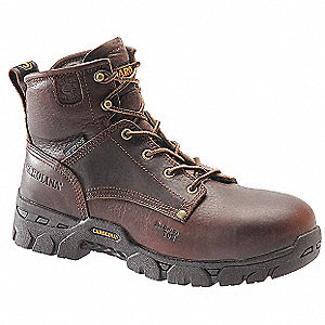 Work Boots,Mens,8EE,Textured,6inH,PR