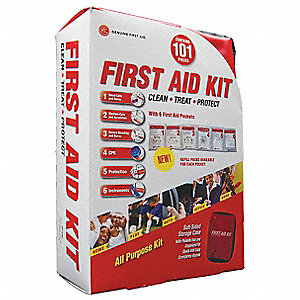 First Aid Kit,Industrial,101 Components