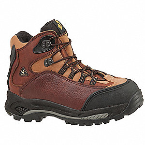 Work Boots,Composite,8,W,Brown,PR