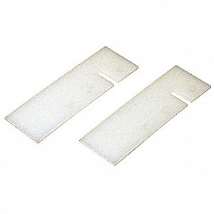 Disk Skimmers Wipers,Plastic,3-1/2in,PR