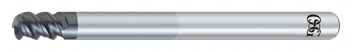 Carbide WXS 2.00mm Milling Dia OSG Corner Radius End Mill