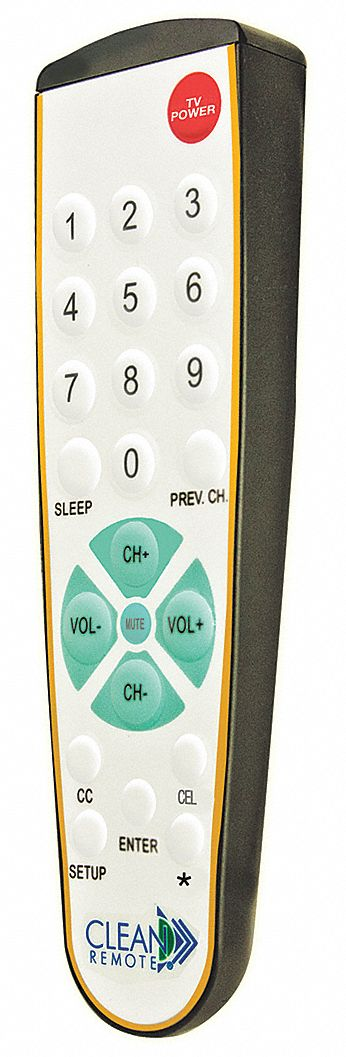 Spillproof Television Remote Control