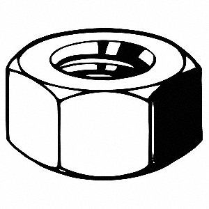 HEAVY HEX NUT A563-DH 1.1/8-7