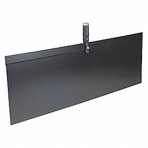 Spray Shield,36in L x 12in W,FlexPlastic