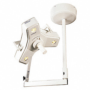 "50 Watt Ceiling Examination Light with 78,000 Lux @ 24"" Light Output"