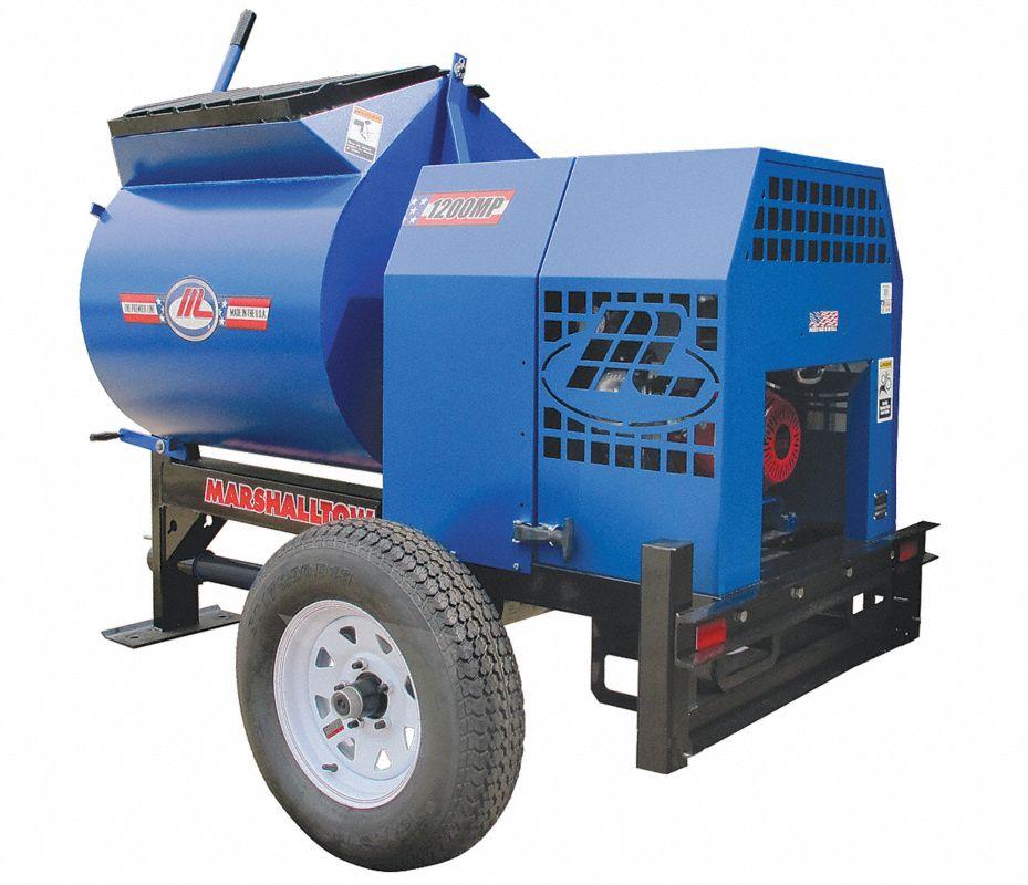 Marshalltown mezcladora de mortero 12 pies cub 8 hp - Mezcladora de mortero ...