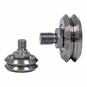 Guide Wheel,Stud, Eccentric,Size 3