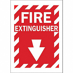 Fire Extinguisher Sign,Fire Exting,Al