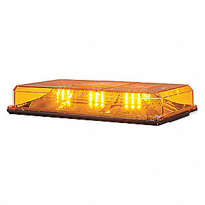 Federal signal amber mini light bar led lamp type permanent mount amber mini light bar led lamp type permanent mount mounting number of heads aloadofball Image collections