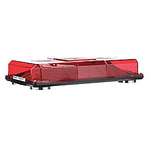 "Mini Light Bar,15-4/5"" L,Red"
