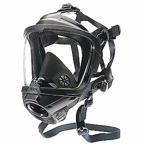 FPS 7000 Full Face Respirator, Respirator Connection Type: Lung Demand Valve, 8 pt. Full Face Suspen