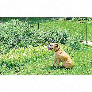 "Deer Fence, 5/8"" x 3/4"" Mesh Size, 7 ft. Height, 100 ft. Length"